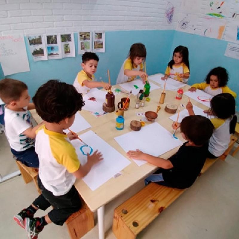 Creche de Criança Valores Jardim Santa Emília - Creche