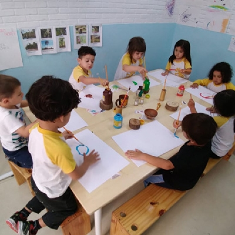 Escola Creche Chácara Inglesa - Creche Escola